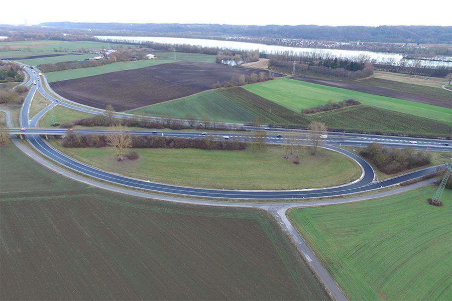 Sanierung B15 Landshut - Road and bridge construction