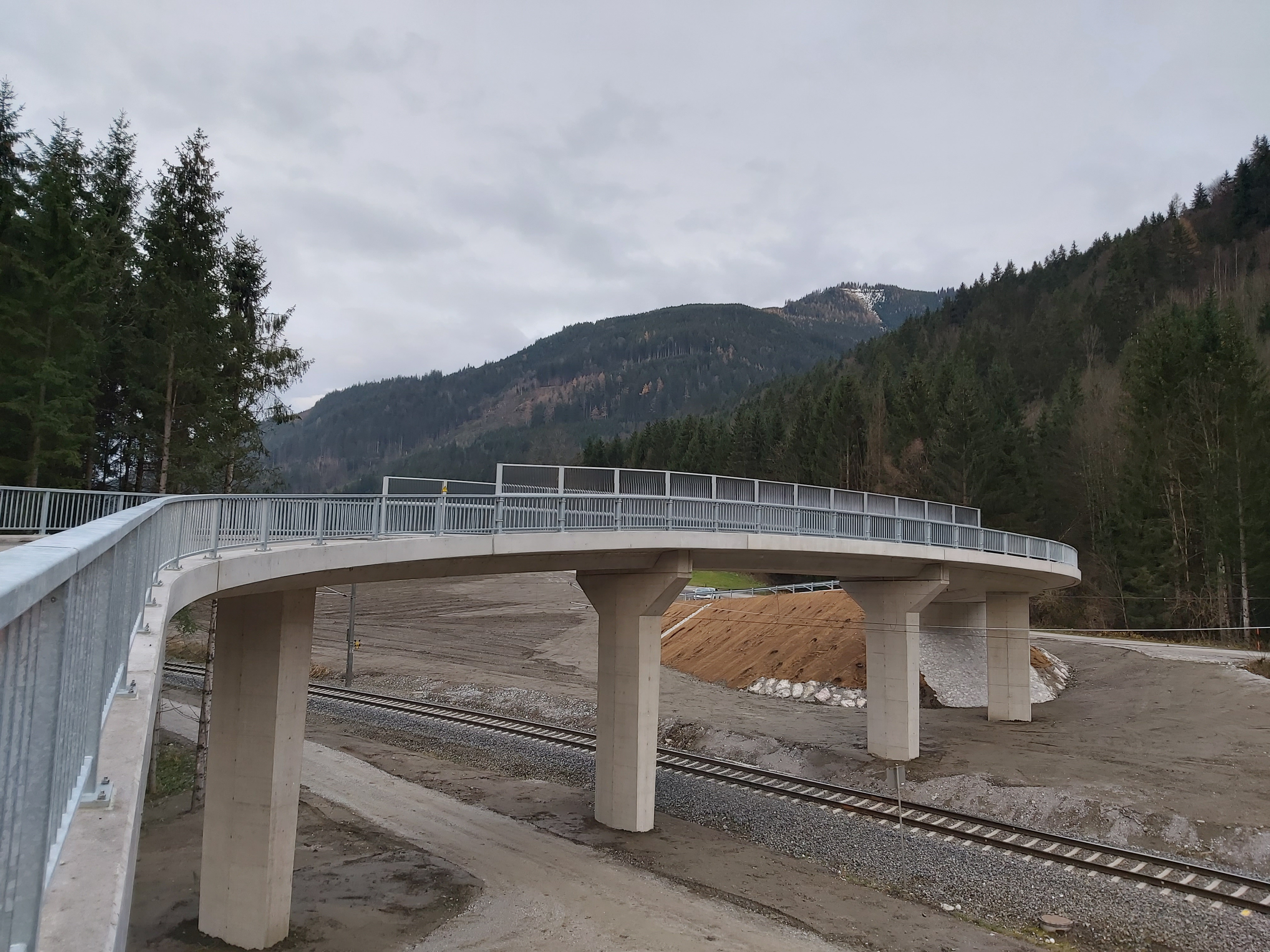 ÖBB Frauenberg - Road and bridge construction