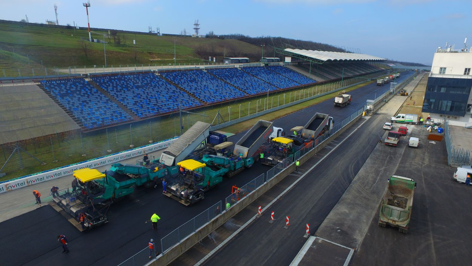 Hungaroring korszerűsítése  - Road and bridge construction